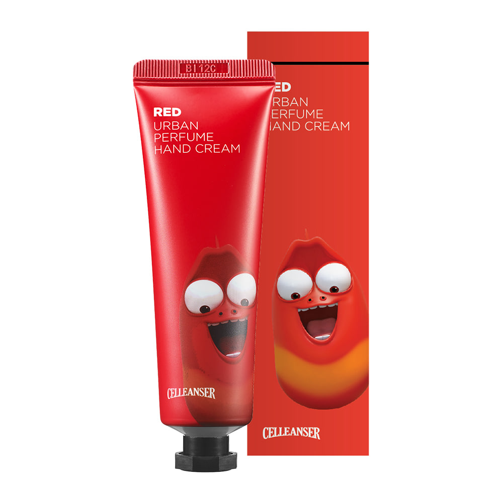 LARVA RED URBAN PERFUME HAND CREAM